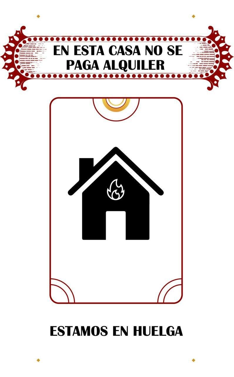Cartel para poner en la puerta