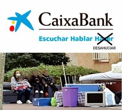 Caixabank desahucia